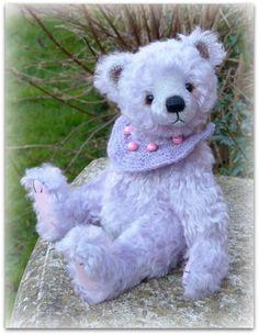 Crocus by All Bear by Paula Teddy Bear Design, Bear Shop, Santa Sack, Math For Kids, Big Bear, Book Crafts, Hand Knitting, Teddy Bears, Beer
