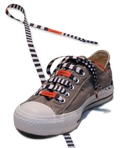 Now these shoelaces really make a statement! #Smoolaces.com