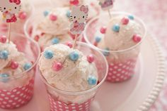 Hello Kitty icecream.