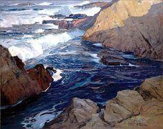 marine oil paintings: william Ritschel