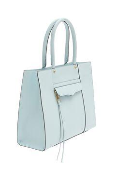 Kelly Elizabeth Style: What I'm Loving Lately - Light Turquoise Rebecca Minkoff MAB Tote