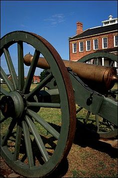 City: Fort Smith  Cannon at Fort Smith National Historic Site