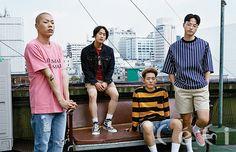 2015.08, CeCi, hyukoh, Oh Hyuk, Im Dong Gun, Lee In Woo, Im Hyun Je