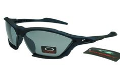 Oakley Asian Fit Sunglasses Dark Blue Frame Green Lens 0131