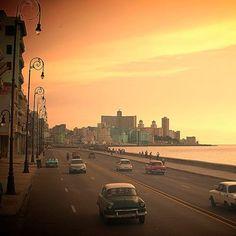 El malecón, La Habana