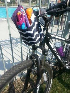 Awesome idea for a bike basket!