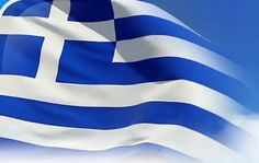 "Greek Flag! The nine stripes represent the nine syllables of the phrase ""Ελευθερία ή Θάνατος"" (""Freedom or Death""). The nine stripes are also said to represent the letters of the word ""freedom"" (Greek: Ελευθερία). The colours are white and blue. White for Freedom and Blue for the Greek Blue Sky. The cross on the left is the sympol for the Eastern Orthodox Christianity."