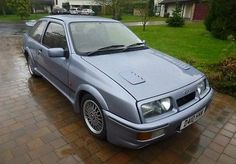 1986 FORD SIERRA RS COSWORTH MOONSTONE   - http://www.fordrscarsforsale.com/4589