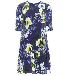 Erdem Emmie Floral-printed Silk Dress For Spring-Summer 2017