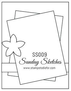 Sunday Sketches SS009 Merry Mice Stamp Set