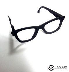 Gafas impresas en NYLON y FIBRA DE CARBONO  #LEON3D #3dprinting #innovacion #nuevosmateriales #LIONPRO3D #LEGIO3D #ULTRANYLON