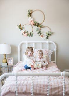 Little Girl Bedrooms, Girls Bedroom, Girl Toddler Bedroom, Boy And Girl Shared Bedroom, Toddler Girl, Bedroom Ideas, Modern Kids Bedroom, Toddler Rooms, Bedroom Designs