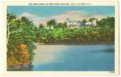 Bonclarken as Seen from Highland Lake Flat Rock by Postcardigans