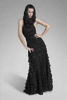 Powder Dress in black...ADORE