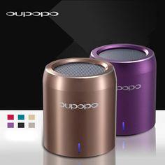 Oupopo Mini Portable Hand-free Wireless Stereo Bluetooth Speaker For iPhone Sams - Audio Docks & Speakers