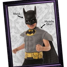 Villains beware! Our Batman costume & accessories will defeat any generic Halloween look!