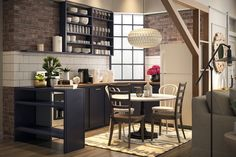 Monica and Chandler's Kitchen