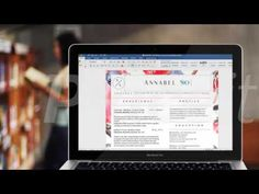 Editing Annabel Southerly Resume Template in Microsoft Word 365