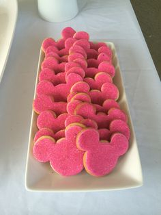 Mickey Mouse clubhouse sparkle sugar cookies