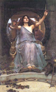 John WIlliam Waterhouse, Medea Offering the Cup to Odysseus
