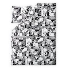 Comic Moominpappa duvet cover 150 x 210 cm by Finlayson