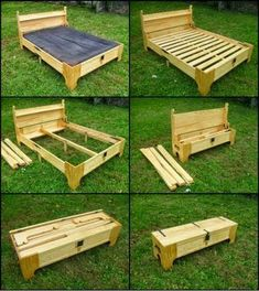 This clever box transforms into a spare bed! Could you use one of these in your home? Want more? View our collection of space-saving beds on our site a... - The Owner-Builder Network - Google+