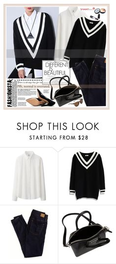 """Sammy dress 33"" by sinsnottragedies ❤ liked on Polyvore featuring Uniqlo, Chicwish, American Eagle Outfitters, Givenchy and Pour La Victoire"