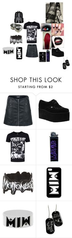 """motionless in white fan outfit"" by monstershawna ❤ liked on Polyvore featuring Rock Rebel"