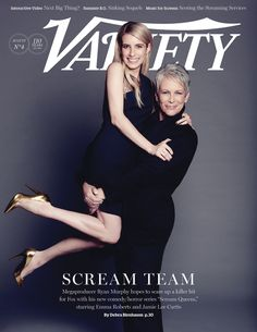 'Scream Queens': Jamie Lee Curtis, Emma Roberts & More Preview Show | Variety