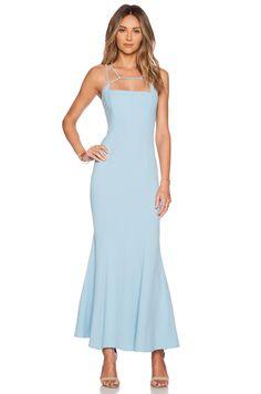JARLO Jade Maxi Dress in Blue