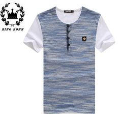 Find More T-Shirts Information about BingBonn New Large Size Casual T Shirts Short Sleeve For Men Black White Green For Spring Summer S 4XL 20%Off,High Quality t-shirt long sleeve,China t-shirt dry Suppliers, Cheap sleeve pipe from Leisure Time. on Aliexpress.com