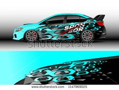 Car decal vector, graphic abstract racing designs for vehicle Sticker vinyl wrap - buy this vector on Shutterstock & find other images. Car Stickers, Sticker Vinyl, Car Decal, Boat Decals, Joker Drawings, Custom Wraps, Lamborghini Cars, Car Goals, Car Sketch