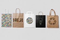 Packaging design, bags, pattern design
