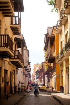 Another gem from Cartagena, Colombia. You can definitely see the Spanish influence in Old Town.