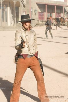 3:10 to Yuma (2007) publicity still of Ben Foster as Charly Prince.