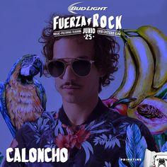 Caloncho presente con sus ondinas playeronas en el Fuerza Rock Festival. Faltan sólo 9 días! Ya tienen sus boletos? Pueden comprarlos en Calimax! Info: http://tjev.mx/FuerzaRock2016