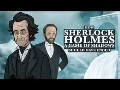 How It Should Have Ended : How Sherlock Holmes: Game of Shadows Should Have Ended  I love the last part where they ask to subscribe in movie style ^ ^