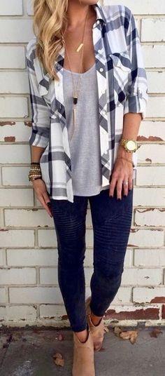 10 ways to wear a flannel plaid shirt