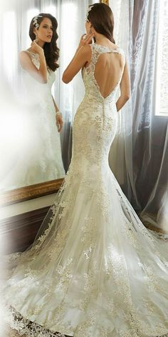 12 Best Sophia Tolli Wedding Dresses ❤ See more: http://www.weddingforward.com/sophia-tolli-wedding-dresses/ #weddings #dresses