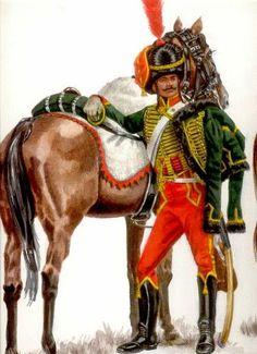 French 7th Hussars, Napoleonic wars