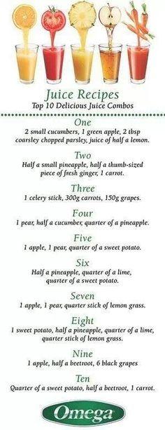 more juice recipes!