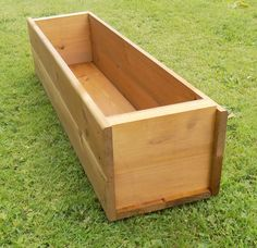 Ideal for a variety of plants and herbs. Wooden Trough Planters, Plant Troughs, Hope Chest, Garden Plants, Planting, Storage Chest, Herbs, Home Decor, Plants