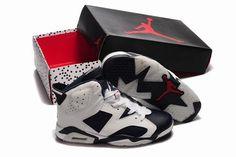 the latest 403b2 f7945 Nike Air Jordan VI 6 Retro Oreo Mens Shoes Air Jordan Vi, Air Jordan Shoes