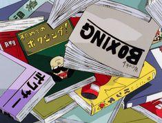 that 90's anime aesthetic