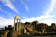 roman forum, italy - Rebecca Rubin by APIstudyabroad, via Flickr