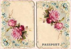 для обложки на паспорт / Декупаж / Картинки для декупажа