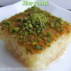 Ревани - десерт турецкой кухни