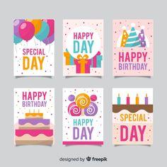 Más de 3 millones de vectores gratis, PSD, fotos e iconos gratis. Todos los recursos gratuitos exclusivos que necesitas para tus proyectos Pink Happy Birthday, Happy Birthday Template, Happy Birthday Wishes Quotes, Happy Birthday Video, Colorful Birthday, Happy Birthday Cards, Birthday Fun, Birthday Greeting Cards, Birthday Greetings
