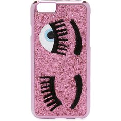 Chiara Ferragni Flirting iPhone 6 / 6s Case ($39) ❤ liked on Polyvore featuring accessories, tech accessories, pink, apple iphone cases, pink glitter iphone case, pink iphone case, chiara ferragni and glitter iphone case