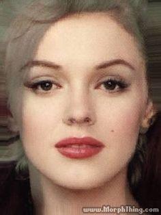 The Rose Mcgowen/Marilyn Monroe morph.